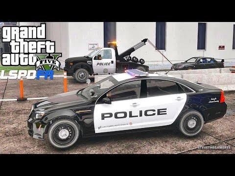 LSPDFR #590 AIRPORT PATROL!! (GTA 5 REAL LIFE POLICE PC MOD)