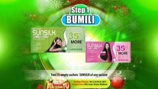 KM8 SUNSILK Proof-of-Purchase