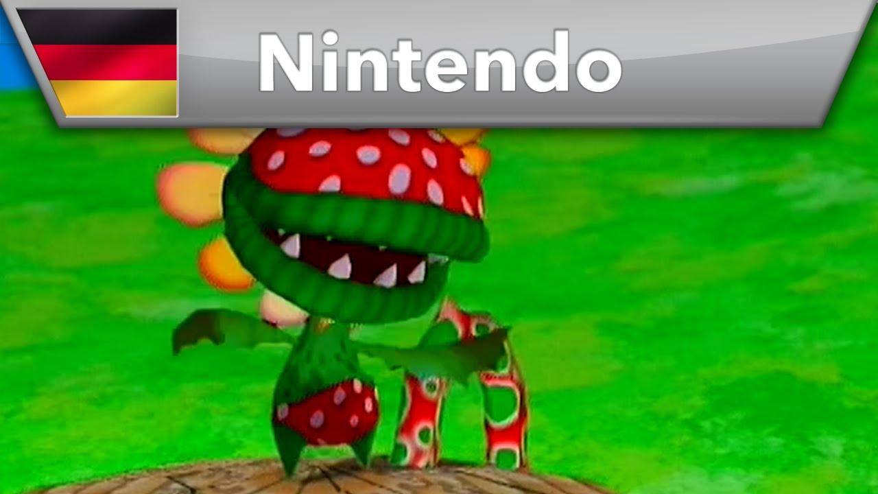 RetroMania - Piranha-Pflanze in Super Mario Sunshine (GameCube)