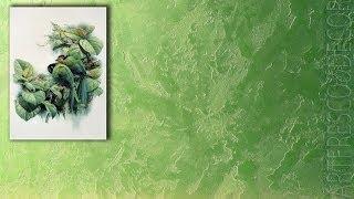 ВЕНЕЦИАНСКАЯ штукатурка Мастер классы декоративная ВИЗАНТИЙСКАЯ фреска VENETIAN PLASTER Урок 6