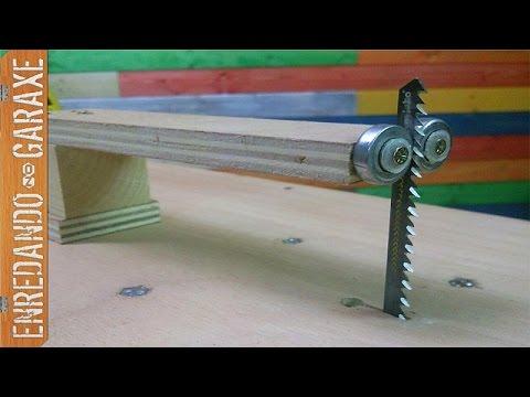 Gu a vertical para sierra de calar de mesa youtube - Guia para construir ...