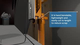Carlon Low-Voltage cable management system