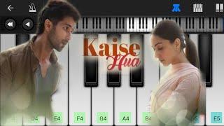 Kabir Singh : Kaise Hua Piano Cover - Easy Mobile Perfect Piano Tutorial | Jarzee Entertainment