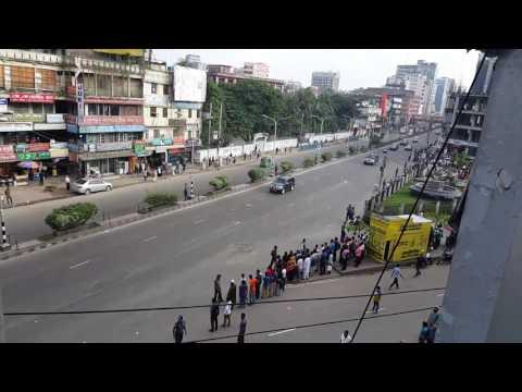 শেখ হাসিনা কিভাবে যায় দেখুন। Prime Minister Sheikh Hasina