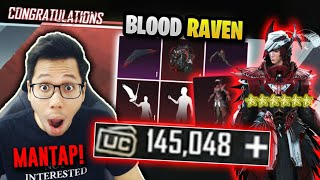 BAK4R UC 126.000 BELI BLOOD RAVEN X SUIT TOTAL 24 JUTA MAX LEVEL! - PUBG MOBILE