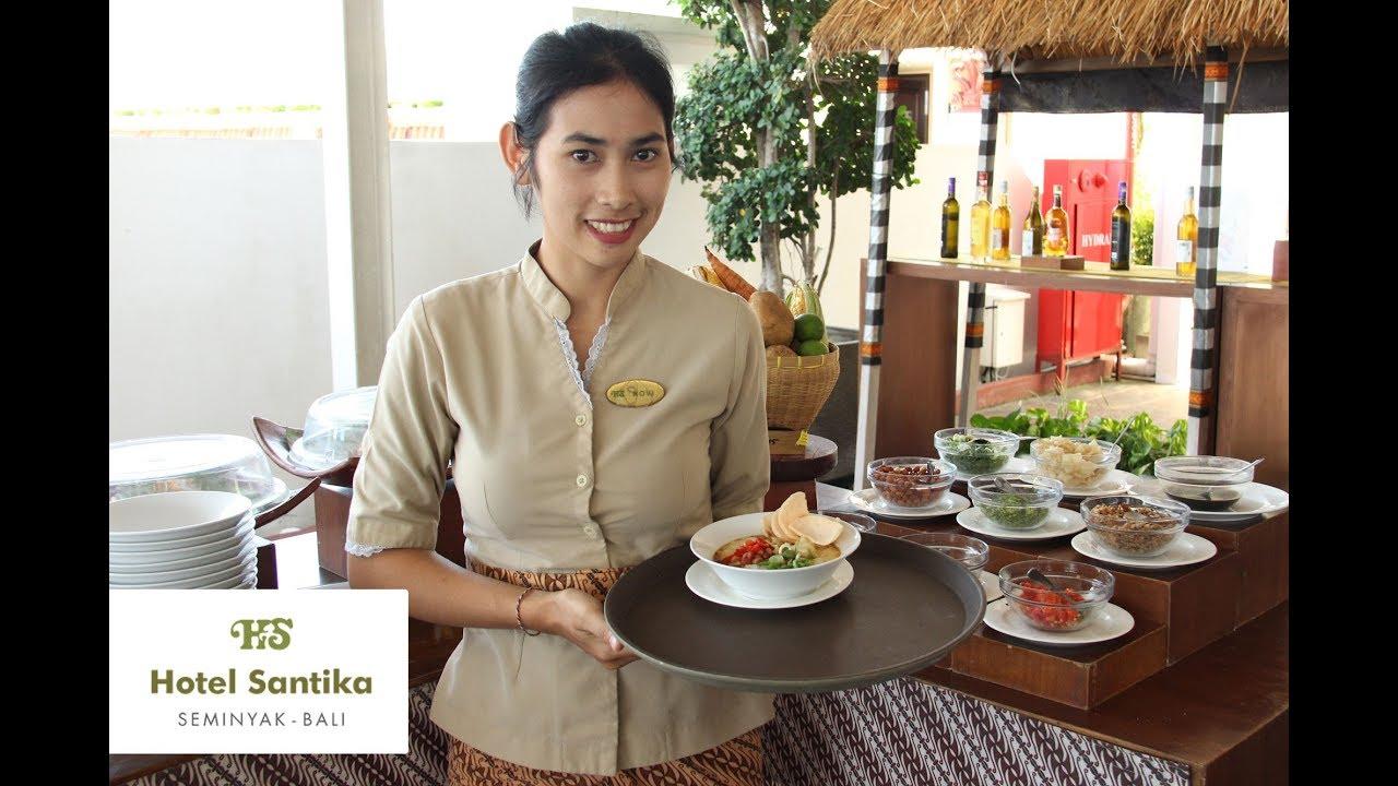 Merah Saga Rooftop Santika Seminyak Bali Youtube