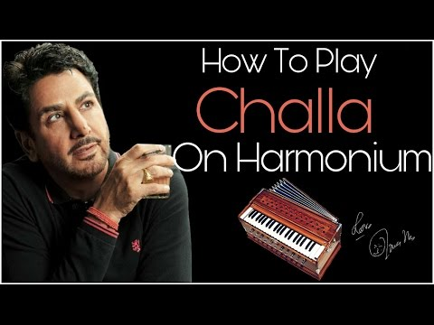 Challa By Gurdas Maan Play On Harmonium (Learn Harmonium)