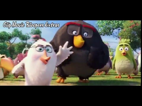 The Angry Birds Movie Clip Compilation - Clip Movie Bloopers Extras