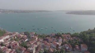 DJI Phantom 4 Testi, istanbul havadan görüntü.