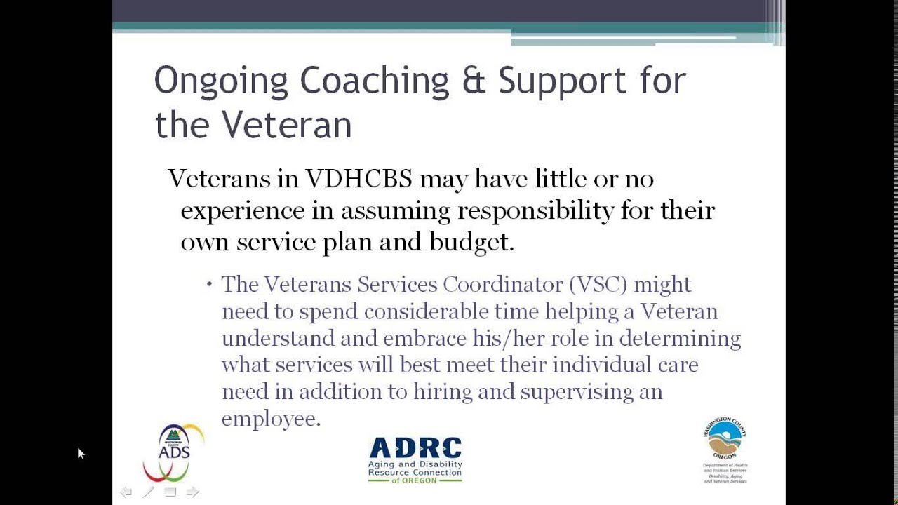Veteran Directed Home and Community Based Services in Oregon ...