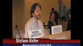 Universal Esperanto Association's intervention for the Linguistic Rights, UN, Geneva, 23 March 2009