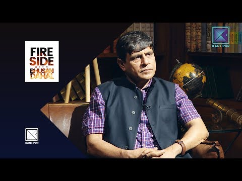 Ghanashyam Bhusal (Leader, CPN UML) - Fireside   23 July 2018