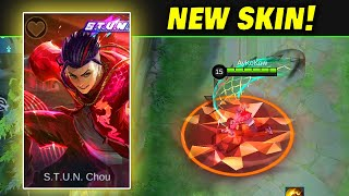 New STUN Skin Chou | Mobile Legends: Bang Bang