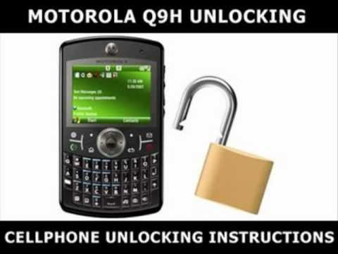 How to Unlock Any Motorola Q9H Using an Unlock Code