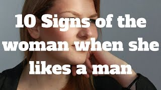 Like Signs a woman man a