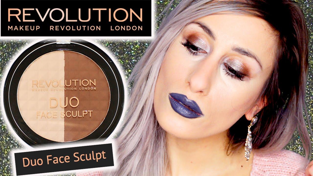 Makeup revolution duo face sculpt