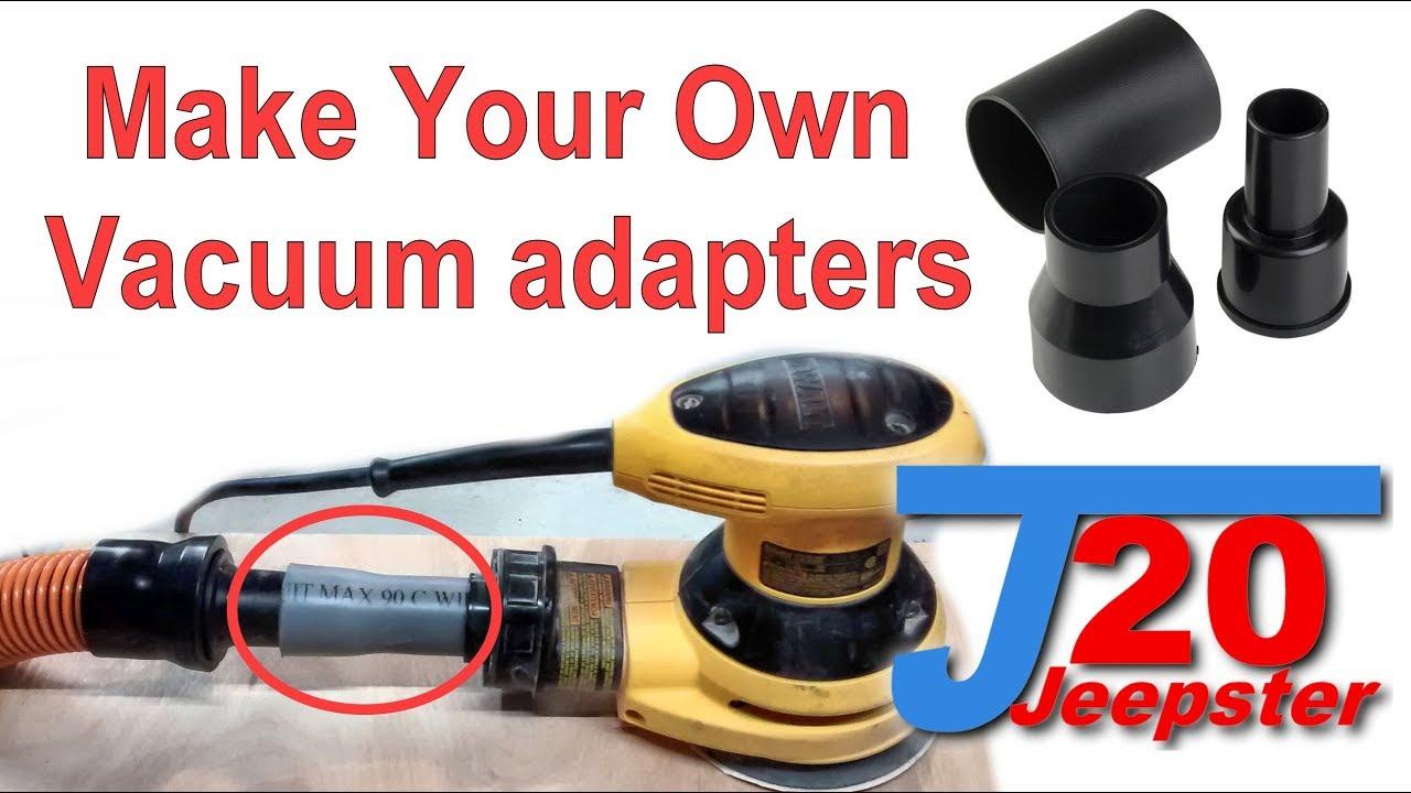 How To Make Custom Vacuum Adapters
