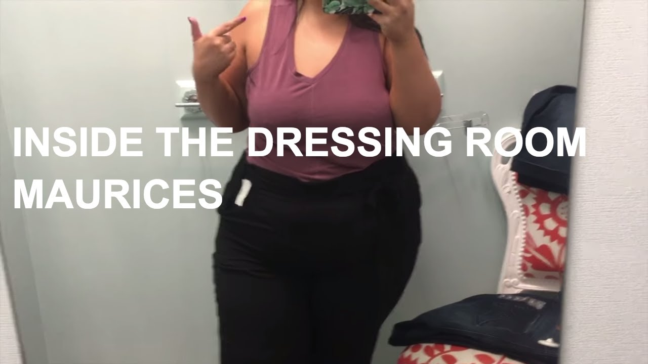 feb16014b4a4f INSIDE THE DRESSING ROOM  PLUS SIZE SHOPPING AT MAURICES - YouTube
