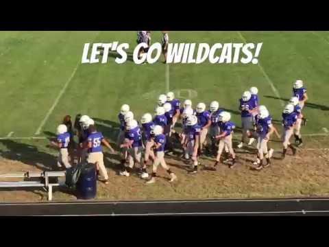 """Wildcats vs Robert E Lee """"JV Football"""" Week 2"""