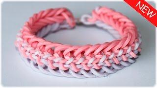 "Браслет из резинок на станке ""Змейка"" | Rainbow Loom Bracelet"