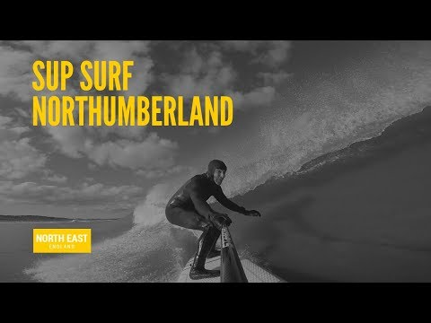 Surfing North East SUP Staaker Drone