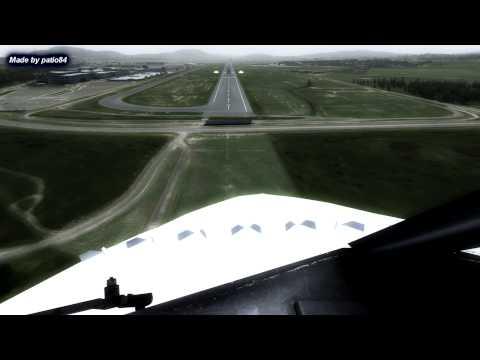 【FSX HD】ORBX CANBERRA V1.1 ULTRA SETTINGS PMDG 737-800 NGX