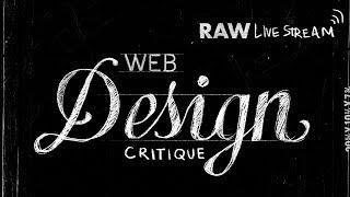 Website Design Critique