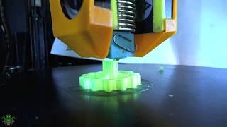 Extruder knob 3D print