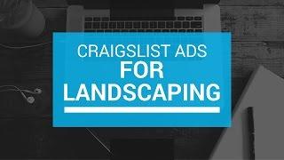 Oluşturmak için Etkili Craigslist bir Reklam Peyzaj