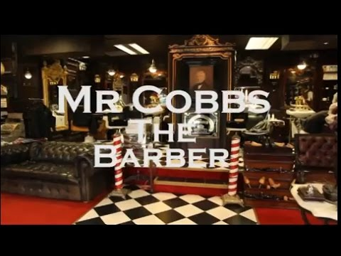 The Old'e English Shaving Shop & Mr Cobbs the Barber