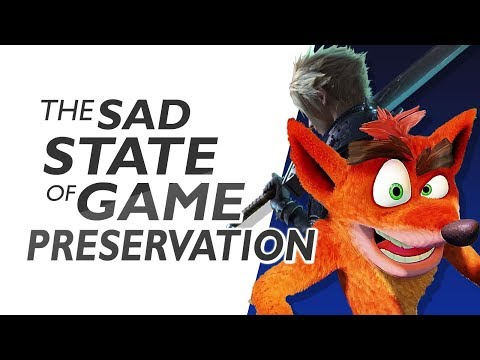 The Sad State Of Game Preservation
