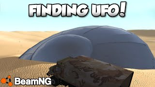 Finding a UFO in BeamNG! - BeamNG.Drive v0.6.1 - Freeroam Gameplay