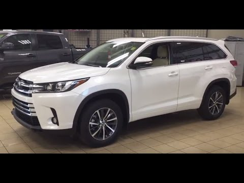 2017 Toyota Highlander XLE Review - YouTube