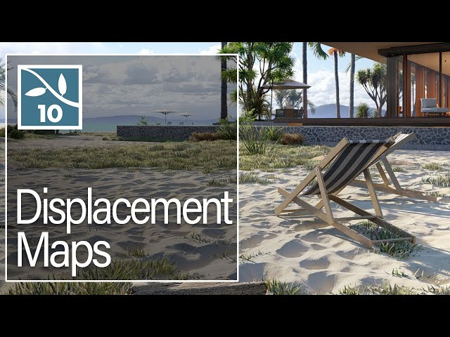 Lumion 10: Realistic HD Displacement Maps