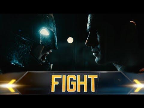 Batman Vs Superman: Fictional Fight Commentary