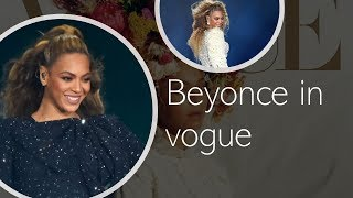 BEYONCE VOGUE COVER SHOOT
