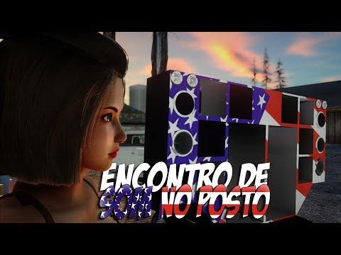 GTA San : Mod Baile Funk No Posto + Paredão Para PC Fraco
