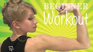Lazy Girl Fitness 1: Beginner Home Workout | Monica Moore Smith
