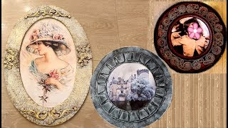 3 Wall decoration ideas /How To Reuse old cardboard For Wall Decoration