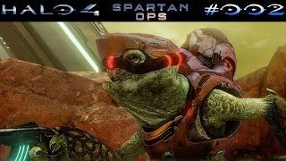 HALO 4: SPARTAN OPS | #002 - Abreise: Sniper Alley | Let's Play Halo The Master Chief Collection