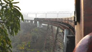 The Spectacular Dyang Bridge - Agartala-Lumding Exp. (Feb. 27, 2013)