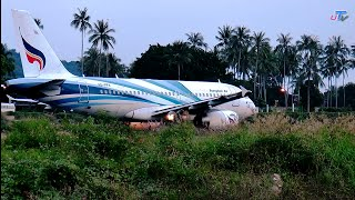 Youtube 60p test : Closer touch Bangkok air take off @KoSamui airport