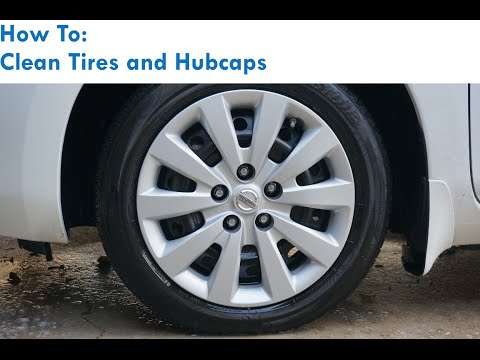How to: Clean Tires and Hubcaps