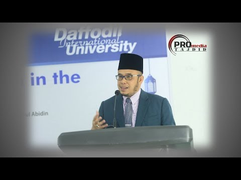 19-10-2017 SS. DATO' DR. MAZA: How to understand hadith through its right context