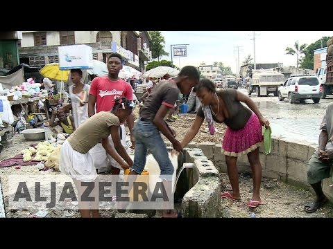 Haiti suffers from post-hurricane cholera outbreak