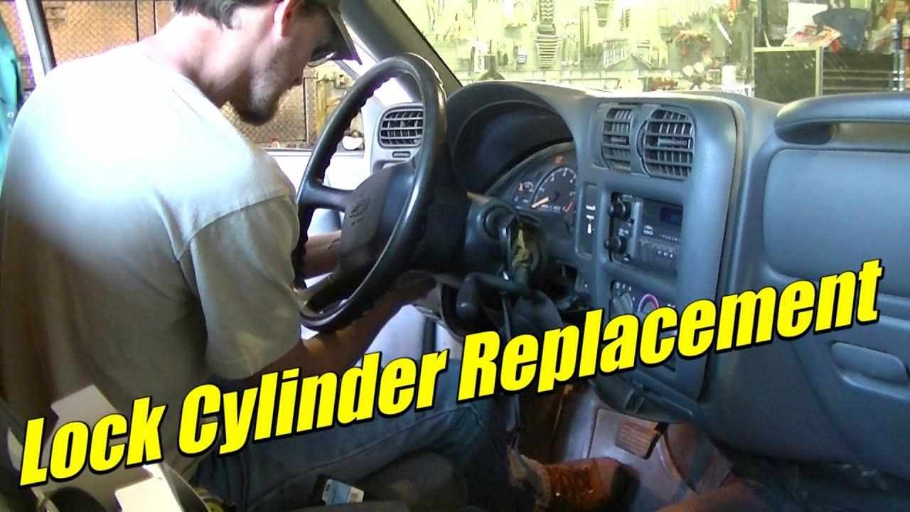 1995 Blazer Wiring Diagram S10 Lock Cylinder Starter Switch Install Replacement Youtube
