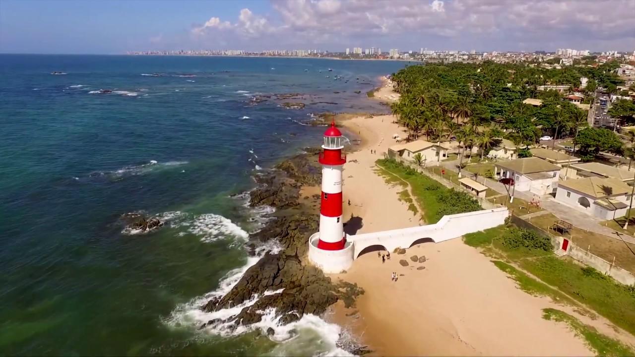 Um Drone Em Itapuã Salvador Bahia Brasil Youtube