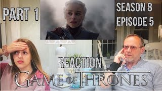 Game of Thrones - 8x5 The Bells - Reaction (Part 1)