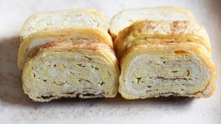 Tamagoyaki (pan Fried Rolled Egg) Recipe - Japanese Cooking 101