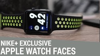 Apple Watch Nike+ Edition Exclusive Watch Faces